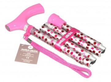 Gehstock Switch Sticks bunt, Hot Pink