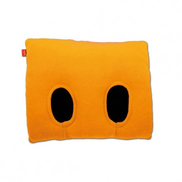 Fuss-Muff-Kissen inside FUSS, orange