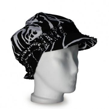 Baskenmütze Deko, schwarz, weiss