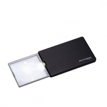 Taschen-Lupe, Lese-Accessoire easyPOCKET, schwarz