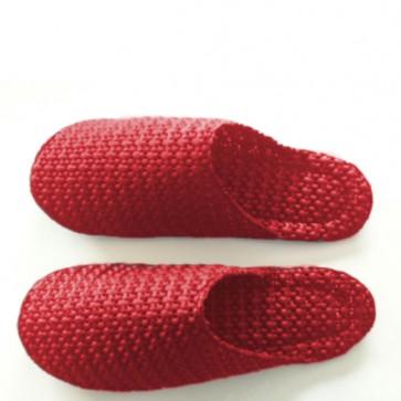 Pantoffeln Slippers Slipp Slopp, Grösse S rot