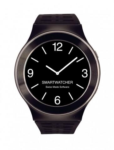 Smartwatcher Notruf-Uhr SENSE, schwarz/silber
