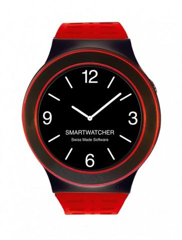 Smartwatcher Notruf-Uhr SENSE, rot