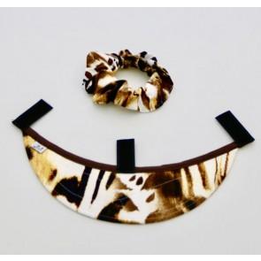 Schild La Diva, Leoprint grau, braun