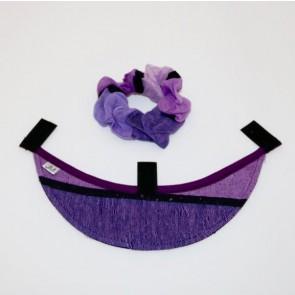 Schild La Diva, Streifen lila