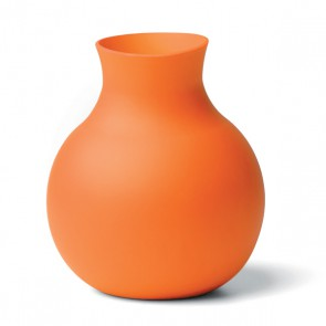 Gummivase klein, orange