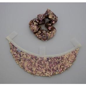 Schild La Diva, Pailetten rosa