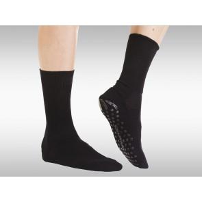 Anti-Rutsch-Socken Fine Schwarz Gr.39-42