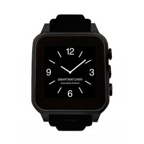 Smartwatcher Notruf-Uhr CHRONO, komplett schwarz
