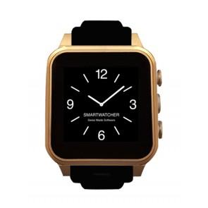Smartwatcher Notruf-Uhr CHRONO, schwarz rosegold