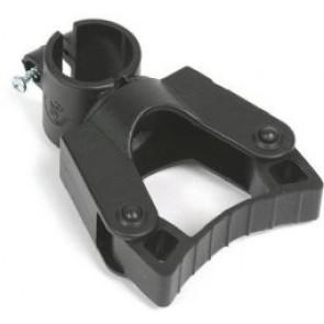 Stockhalter für Rollator,  Ø25 mm Rohr, Mobilex