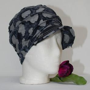 Mütze La Donna, leichte mütze grau
