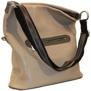 Handtasche Adele, Leder grège
