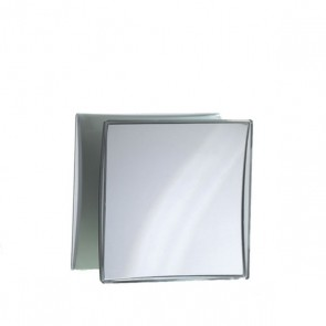 Kosmetikspiegel quadratisch 5-fache vergösserung