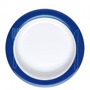 Teller Vital MeGa gross, blau