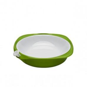 Thermoteller, grün