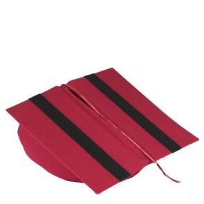 Leselotte, Buchstütze und Buchkissen rot