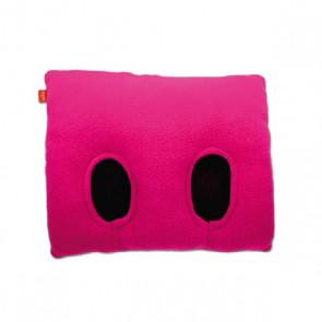 Fuss-Muff-Kissen Inside FUSS, pink
