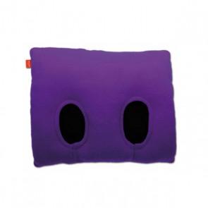 Fuss-Muff-Kissen Inside FUSS, violett