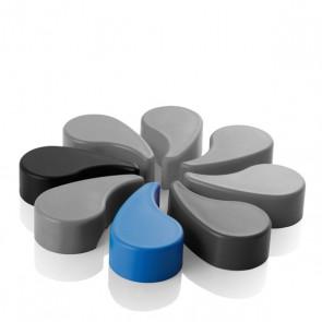 Pet-Flaschenöffner Twister, blau