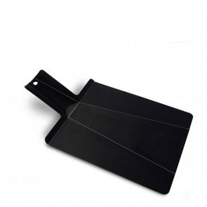 faltbares Schneidebrett Chop2Pot, schwarz