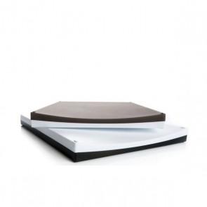 Schneidebrett Cutting Board, grau, weiss
