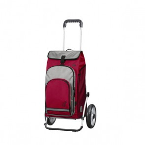 Einkaufs-Shopper, Trolley, Royal Hydro, rot