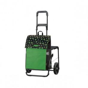 Einkaufs-Komfort-Shopper Lola, grün