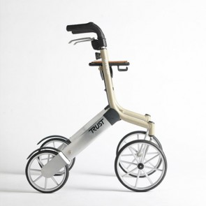 Rollator Let's go out, beige