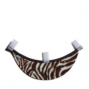 Schild La Diva, Zebra braun