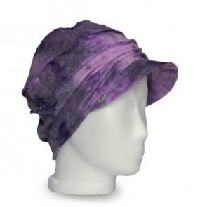 Mütze La Donna, batik lila