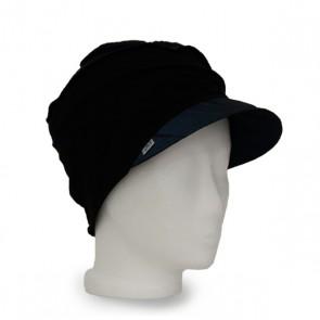 Mütze La Donna blau, winterwarm