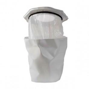 Mini Bin Bin, Abfallbehälter mit Klemmring weiss