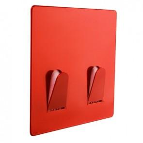 Doppelhaken TWO, rot