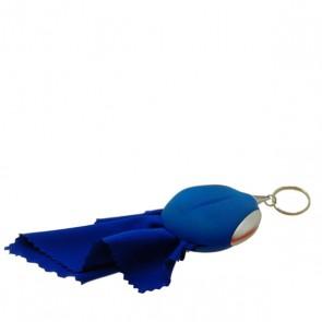Brillenputztuch Poutsy One Blue