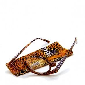 Schminkbrille Pretty Cheetah, +2.5 dpt