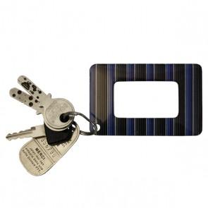 Lupe im Kreditkartenformat, blaue Streifen