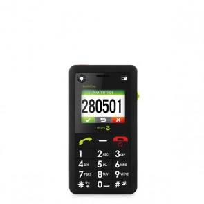 Doro HandleEasy 330GSM, Mobiltelefon schwarz
