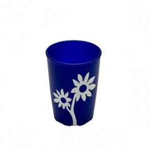 Becher Floris, blau