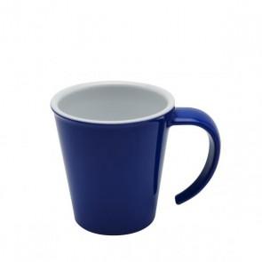 Kaffeepott blau, Ornamin
