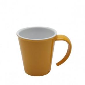 Kaffeepott gelb, Ornamin