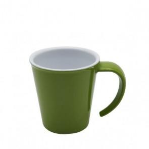 Kaffeepott grün, Ornamin