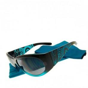 Bifokale Sonnen- Fertiglesebrille Joy Ornament Turquoise, +3.0 dpt