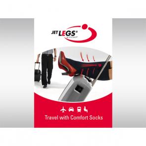 JET LEGS AD schwarz, 36-40 Standard