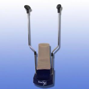SOCKS-JET Anziehilfe für Kompressionsstrümpfe, mit Haltestangen