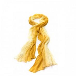 Schal Chiffon Ombrée gelb, Passigatti