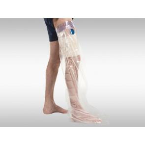 Dusch-Schutzfolie für das Bein 5er Pack
