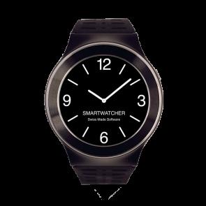 Smartwatcher Notruf-Uhr SENSE, schwarz-schwarz