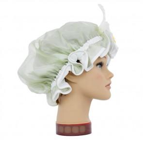 Duschhaube Lilie lindgrün, GlamKapz