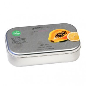 Greenland Balm & Butter Geschenk-Set Papaya Lemon